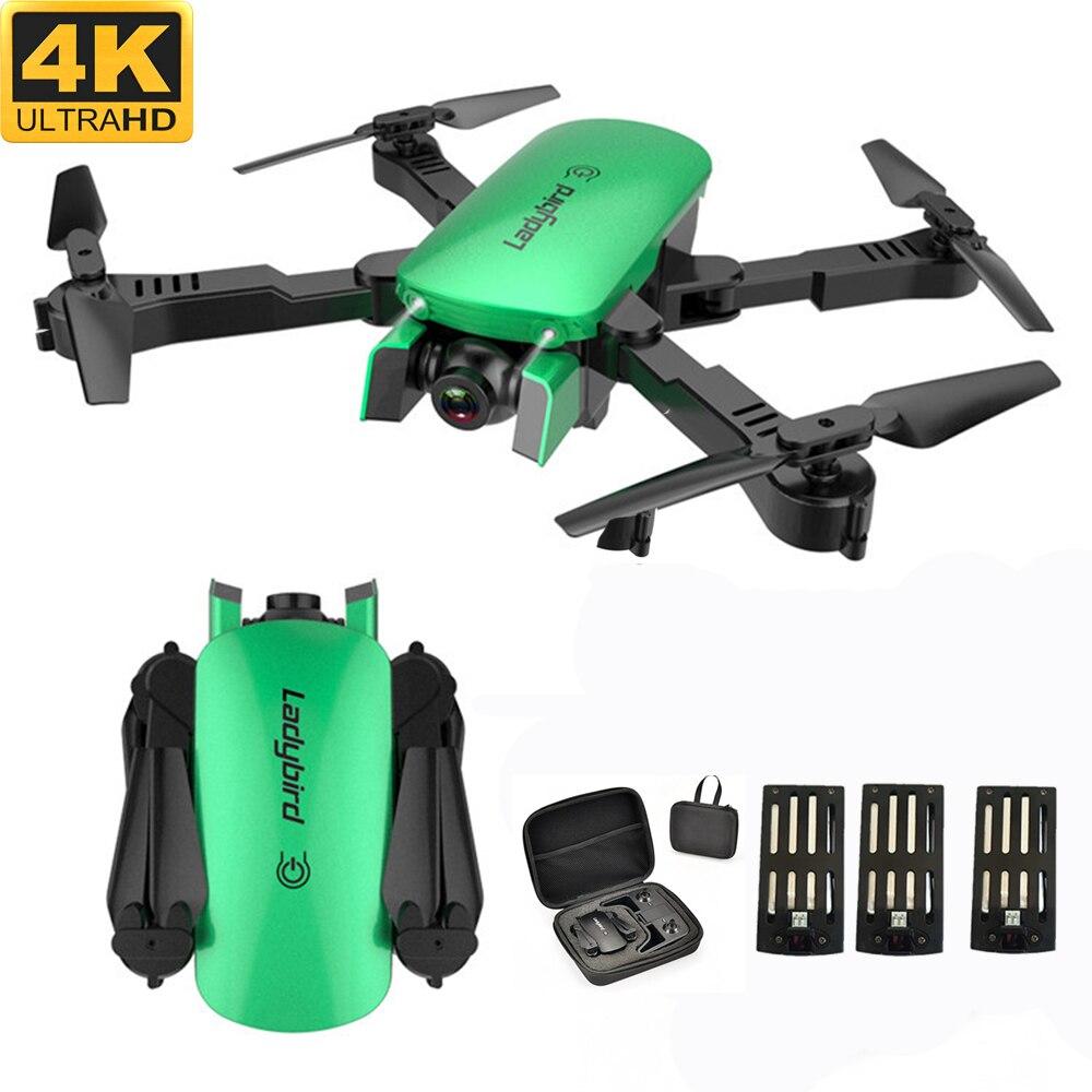 Aerial Photography Drone Quadcopter Remote-Control Dual-Camera Follow 4K Optical-Flow-Hover