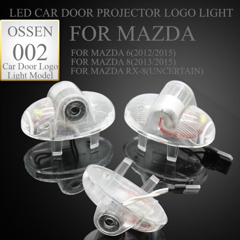 Mazda 8 Mazda 6 Mazda RX8 RX-8 Simsiz Ghost kölgə salamlama üçün - Avtomobil işıqları - Fotoqrafiya 2
