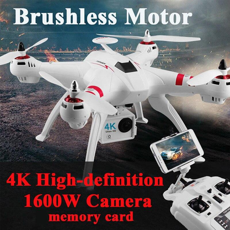 X16 rc drones con cámara hd drone GPS altura 500 metros volar distancia Fpv quadcopter helicóptero rc Motor sin escobillas 4 K 1600 W Juguetes