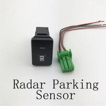 Противотуманный светильник светодиодный DRL камера рекордер радар парковочный задний фонарь источник питания Кнопка зеркала переключатель...
