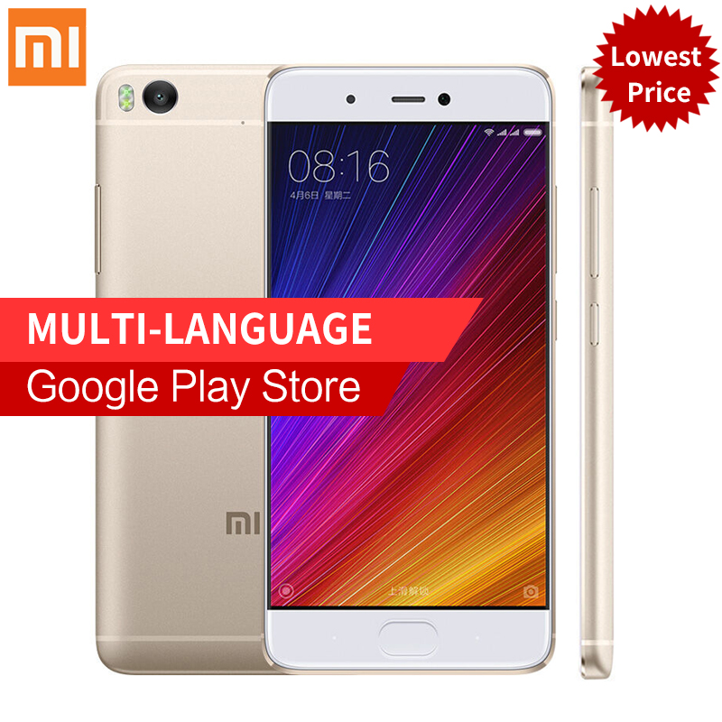 "Original Xiaomi Mi5s Mi 5S 3GB RAM 64GB ROM Mobile Phone Snapdragon 821 Fingerprint NFC QuadCore 5.15"" 1920x1080 Smartphone"