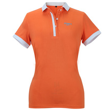 Newest PGM Golf Apparel Women Summer Polo Golf Shirt Quick Dry Fit Sport Tshirt Ladies Golf Clothing 90%Polyester 10%Spandex XL