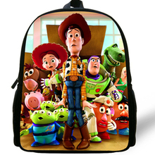 09168ad1b25 12-inch Mochila School Kids Backpack Toy Story School Bags For Boys Cartoon  Woody Roundup · 16 Colors Available