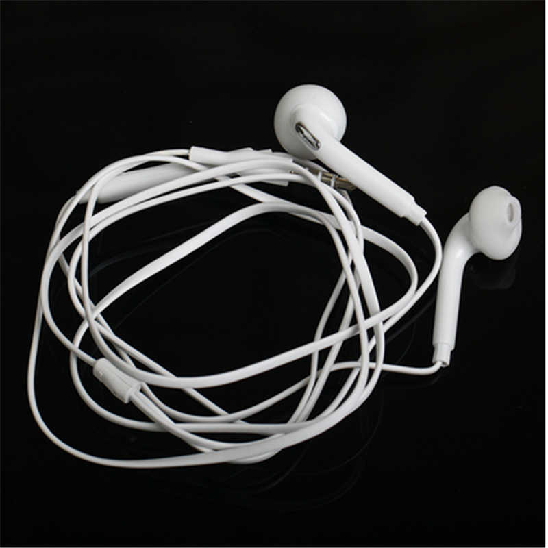 S6 الرياضة سماعات مع ميكروفون 3.5 مللي متر في الأذن السلكية سماعة سماعات ستيريو fone دي ouvido سماعات العالمي ل شاومي آيفون PC S8