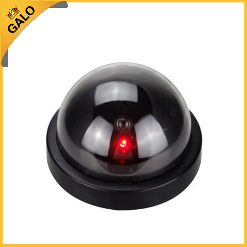 Wall Infrared Security Camera Video Surveillance LED Dummy Dome Imitation