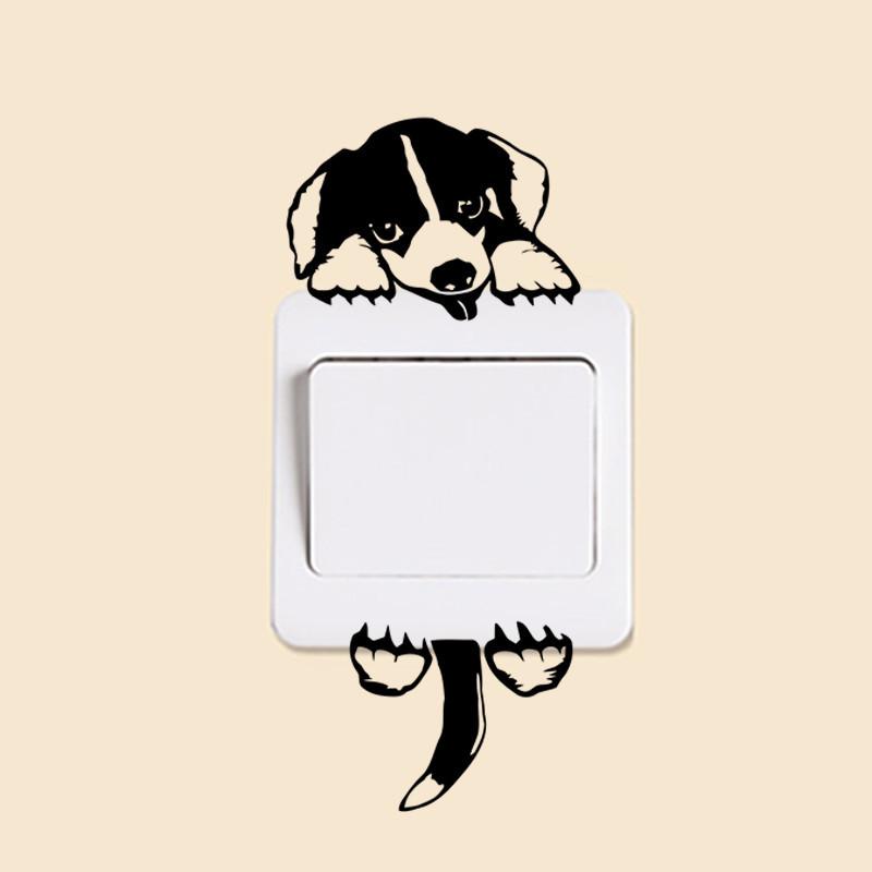 DIY Funny Cute Black Cat Dog Rat Mouse Animls Switch Decal Wall Stickers DIY Funny Cute Black Cat Dog Rat Mouse Animls Switch Decal Wall Stickers HTB1Cel JVXXXXcoXFXXq6xXFXXXV