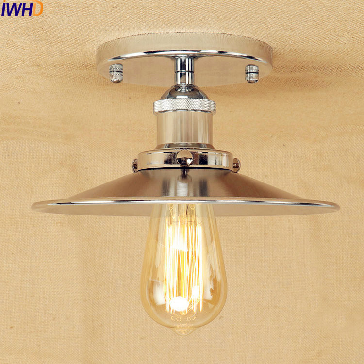 Edison Vintage ceiling Lights Fixtures American Loft Style Lighting Industrial Ceiling Lamp Plafondlamp Luminaire Lampara Techo все цены