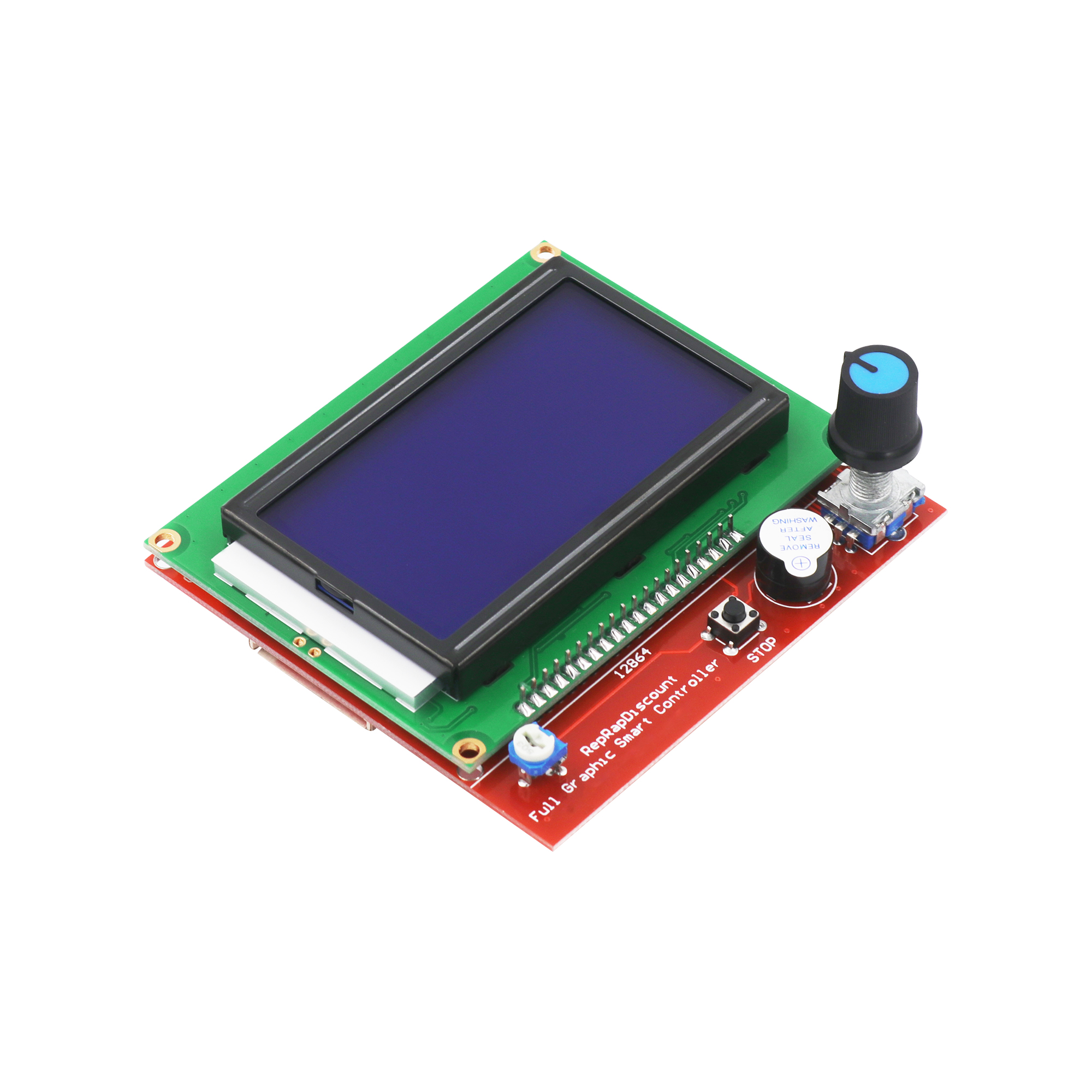 Image 3 - CNC 3D Printer Kit with Mega 2560 Board,RAMPS 1.4,DRV8825,LCD 12864,Heatbed MK2b for Arduino-in Integrated Circuits from Electronic Components & Supplies