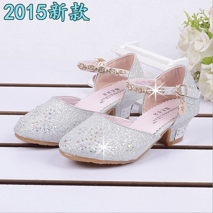 big girl white shoes faux leather sandals kids sneakers old girls 10 years shoes  dance silver ea86fb543ab9