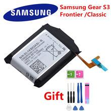 Bateria de substituição original EB-BR760ABE para samsung gear s3 frontier/classic SM-R760 SM-R765 SM-R770 SM-R765S 380mah
