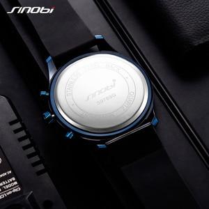 Image 4 - Relojes hombre sinobi車創造男性腕時計メンズファッションスピードレーシングスポーツ時間クロノグラフシリコーンの腕時計クォーツ腕時計