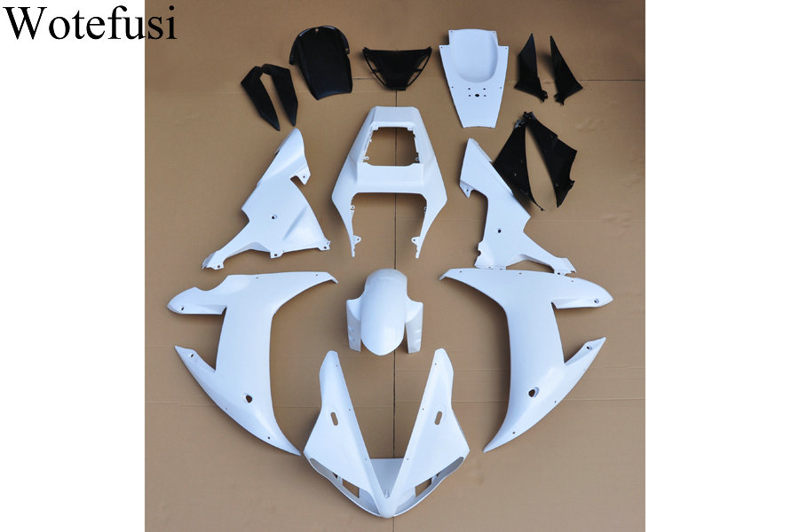 Wotefusi ABS Injection Mold Unpainted Bodywork Fairing For YAMAHA YZF R1 2002 2003 [CK1024] unpainted under tail fairing cowl rear bodywork for yamaha yzf r1 2002 2003