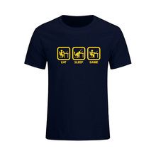 Eat, Sleep, Game T-shirt / 20 Colors
