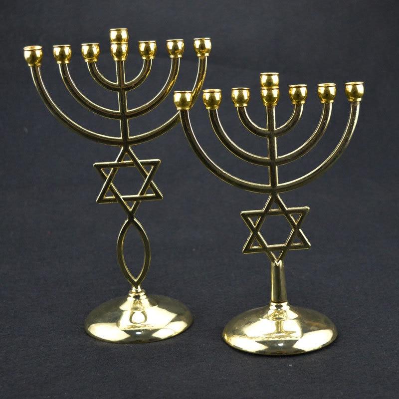 Image 2 - エルサレム本枝の燭台とダビデの星 Messianic Menora の真鍮    グループ上の ジュエリー & アクセサリー からの ジュエリー用包装