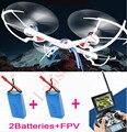 2 Baterias JJRC H16 Tarântula X6 2.4G 6-Axis rc drone Com Câmera de 2MP 4CH FPV quadrocopter helicoptero de controle remoto a