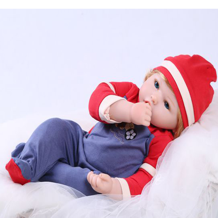 Lovely Baby Reborn Doll Toy Birthday Gift for Kid Girl Brinquedos Silicone Reborn Babies Boneca Early Education Dolls Tools classic world wooden traffic tools nut assembly toy container truck toy for kid boy girl hand crafted brain teaser gift