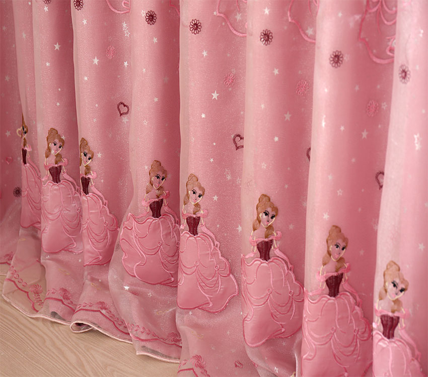 Attractive New Arrival Curtains For Living Room Window Curtain Pink Princess Curtain  For Girls Chinese Blackout High Quality In Curtains From Home U0026 Garden On  ...