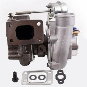 Image 4 - Универсальный GT2871 T28 400 + HP турбо Турбокомпрессор подходит 240SX S13/S14 SR20/CA18 0,6 A/R 0,64 A/R 5 болт фланца