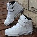 2017 Nova Outono Inverno Homens Estilo Britânico Sapatos Sapatos Casuais Homens Partes Superiores altas Sapatos Da Moda Hip Hop Los zapatos 38-44 frete grátis