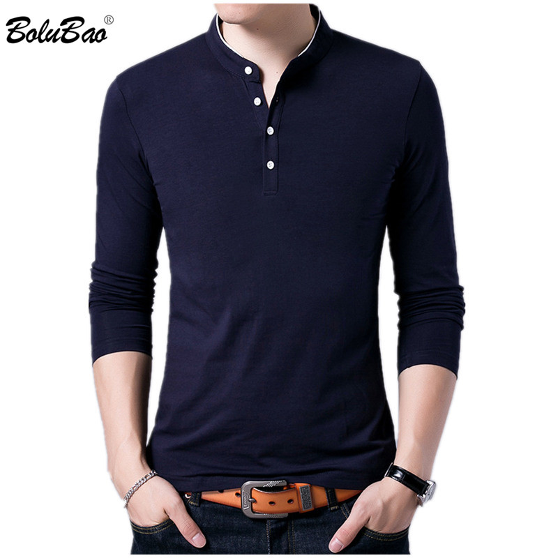 BOLUBAO New Brand Men   Polo   Shirts Fashion Style Spring   Polo   Shirt Men's Solid Color Tee Top Casual Male   Polos