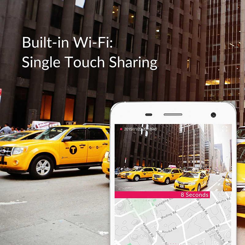 """YI смарт-dash Камера видео Регистраторы Wi-Fi Full HD Видеорегистраторы для автомобилей Cam Ночное видение 1080 P 2,7 """"165 градусов 60fps ADAS безопасный напоминание"""