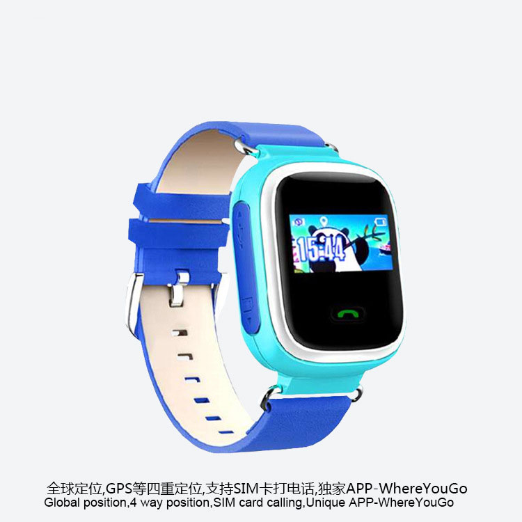smart phone watch children kid wristwatch call color screen positiong card phone GPS watch font b
