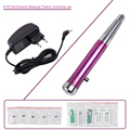 New Professional Tattoo Kit Permanent Makeup Eyebrow Pen Machine 50 Needles 50 Tips EU or US Plugs K18 for Lips Eyeliner
