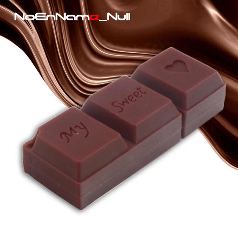 Noenname Chocolate Usb Flash 64GB Pen Drive Cartoon Stick 32GB Pen Drive 16GB 8GB Usb Flash Drive Best Gift