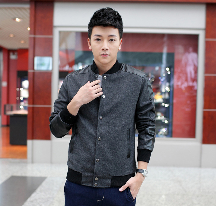 Popular Korean Style Men Jacket Bomber-Buy Cheap Korean Style Men ...