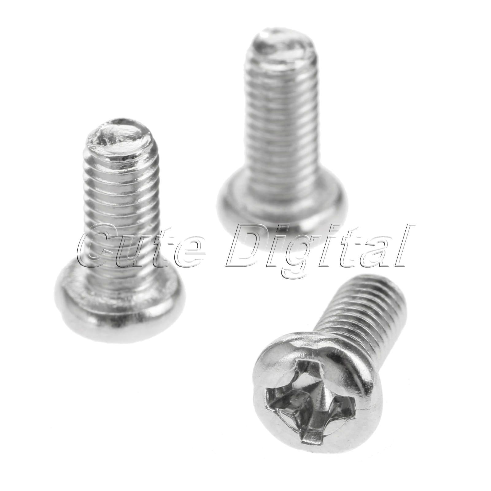 Metric Steel Hex Head Bolt assortment 4mm M4 M5 M6 M7 Parts 5mm 6mm /& 7mm