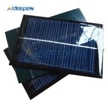 6V 100mA 0,6 Вт мини эпоксидной Панели Солнечные фотоэлектрические поликристаллический кремний сотовый Зарядное устройство