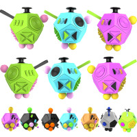 2016 New Original Fidget Cube Generation 2 Fidget Cube Strange Shape Magic Cube Vinyl Desk Toy