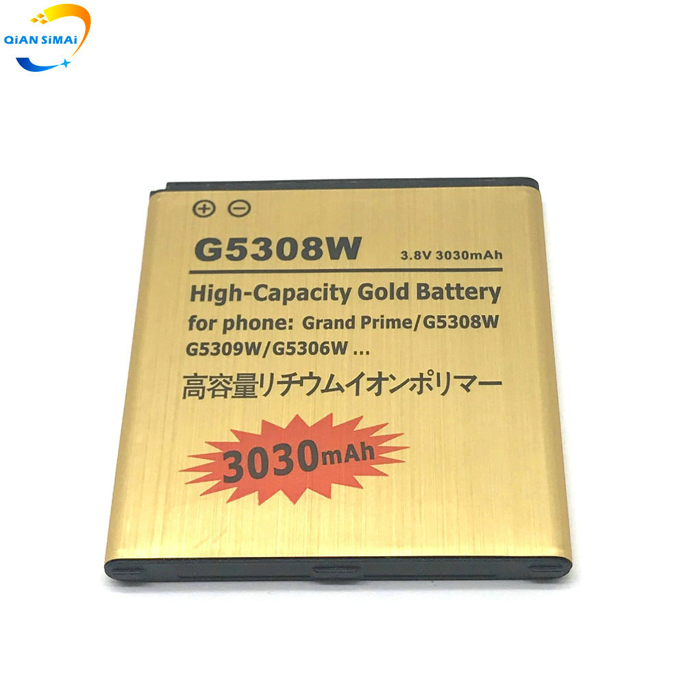 New 3030mAh Golden Battery For Samsung Galaxy J3 J320 J320FN J5 2015 J500 J500FN J500H Grand Prime G530 G530H G530F Duos