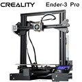 CREALITY 3D Ender-3 PRO 3d принтер модернизированная магнитная сборка пластина возврат сбоя питания печать DIY комплект средняя мощность питания