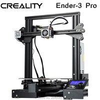 CRIATIVIDADE 3D Ender-3 PRO 3D Impressora Placa Magnética Construir Currículo Atualizado KIT DIY Impressão Falha de Energia MeanWell fonte de Alimentação
