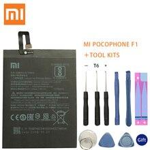 Original Replacement Battery BM4E For Xiaomi MI Pocophone F1 Authentic Phone Battery 4000mAh+Tool Kits все цены