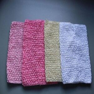 1 шт., популярные детские вязаные крючком топики-пачки 9 дюймов для девочек, красивая широкая юбка-пачка «сделай сам», юбка, бесплатная достав...