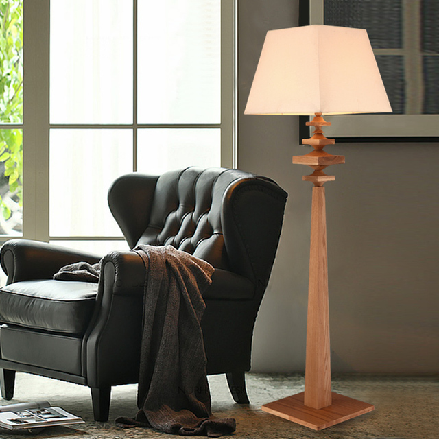American Country Living Room Floor Lamp Bedroom Modern Minimalist Part 89