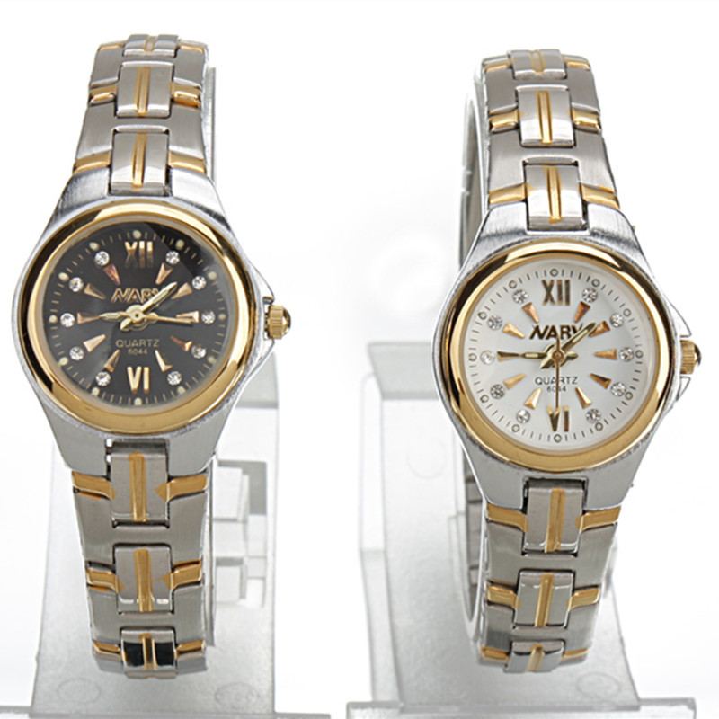 NARY Luxury Brand Man Casual Watch Men s Quartz Gold watch men full steel watches Female