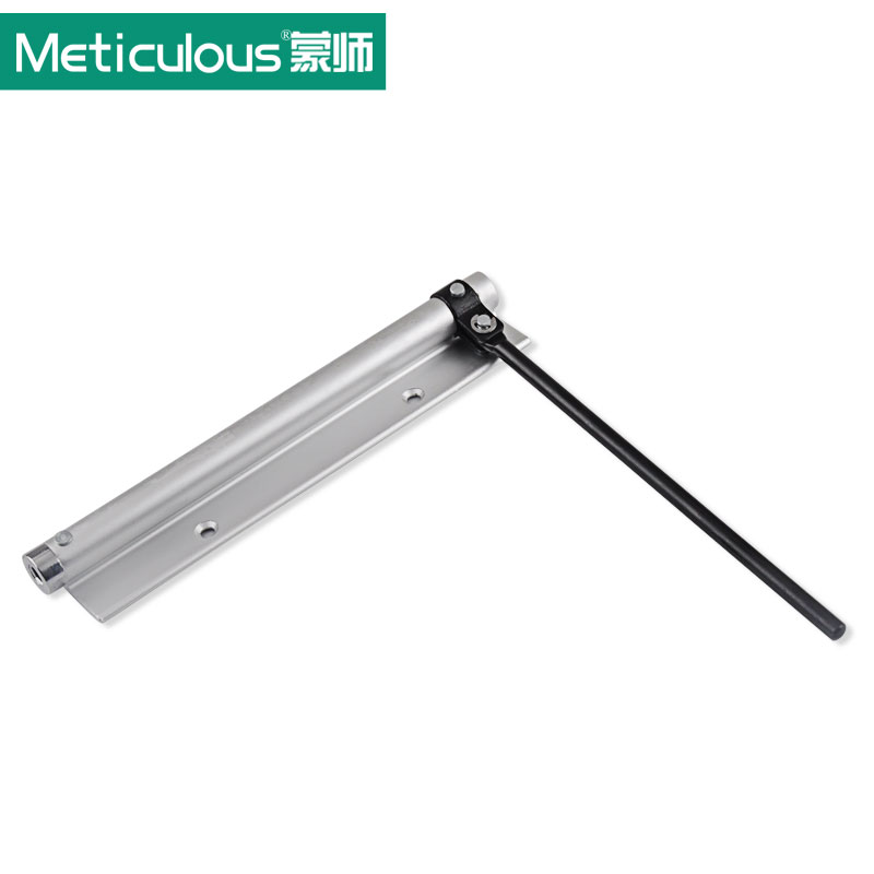 Meticulous Aluminum alloy single spring Door Closer Light Door Closer Household With Automatic Door Strength Adjustable 40K new automatic door closer mayitr household adjustable stainless steel hotel office surface mounted closing device for hardware
