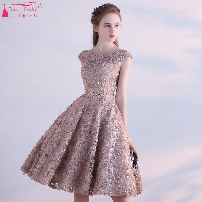 Detail Feedback Questions about Short Homecoming Dresses 2018 Sexy Cap  Sleeve Knee Length Party Dresses Backless Prom Gown Real Photos Vestido De  Noiva on ... 1ba426f00a8e