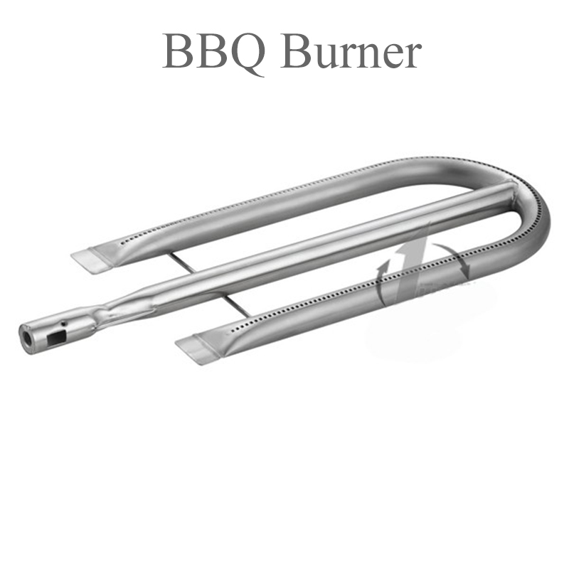 304 Stainless Steel BBQ Burner U type burner for gas fireplace mig mag burner gas burner gas linternas wp 17 sr 17 tig welding torch complete 17feet 5meter soldering iron air cooled 150amp