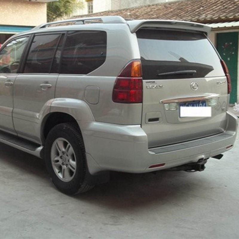 WITH LIGHT PAINTED LEXUS GX470 FACTORY STYLE SPOILER 2003-2009