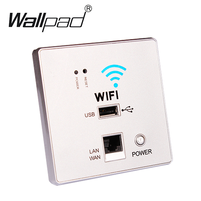 2018 New White USB Socket Wireless WIFI USB Charging Socket,Wall Embedded Wireless AP Router, 3G WiFi Repeater Free Shipping