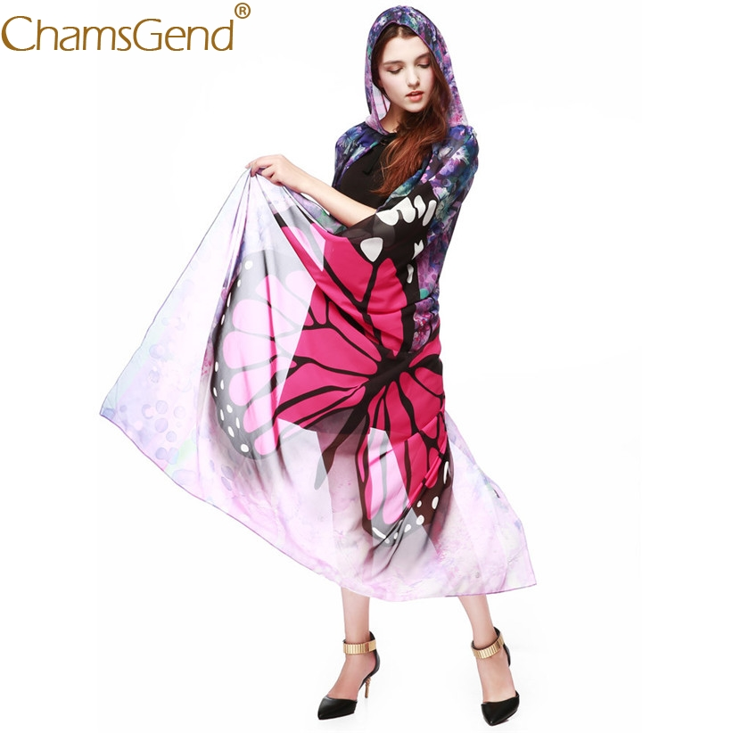 965bb6fc64e Chamsgend Newly Design Women Butterfly Wings Chiffon Cosplay Cloak Poncho  Cape For Halloween Festival Show Drop Shipping 71018-in Holidays Costumes  from ...