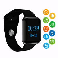 Smart Watch I3S Men Watches Clock Android 2.5D arc Face LCD support Heart Rate Blood Pressure Monitoring IWO Smartwatch