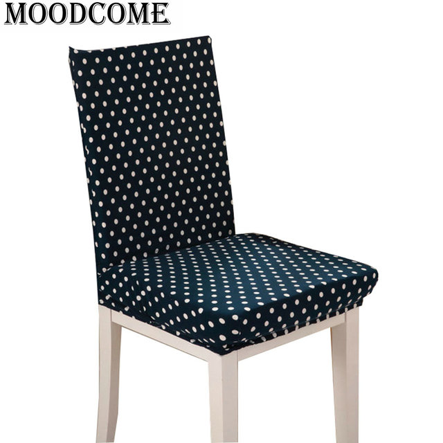 Dining Chair Covers Aliexpress Marcel Breuer Cesca Replacement Cane Seat Restaurant Cover For Weddings Banquet Elastic Impressionism Styles Spandex Stretch