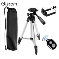 Gizcamสมาร์ทบลูทูธการควบคุมระยะไกลชัตเตอร์กล้องตั้งเวลาคลิปที่วางขาตั้งกล้องชุดชุดของที่ร...