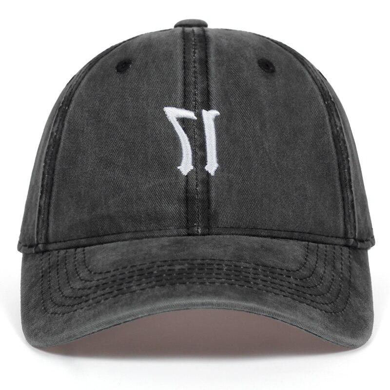 808036dc1 XXXTentacion 17 Distressed Dad Hat men women Washed baseball cap high  quality fashion cotton cap hats