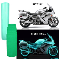 30cmx100cm Luminous Car Stickers Car Wrap Sheet Roll Film Car Stickers And Decals Motorcycle Car Styling